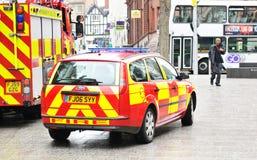 Fire crew royalty free stock photos