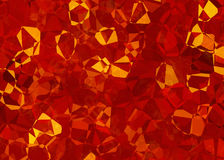 Fire crystal abstract texture Royalty Free Stock Photography