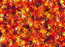 Fire crystal abstract texture Stock Photos