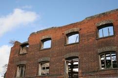 Fire damage Royalty Free Stock Photo