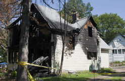 Fire damage Stock Photos