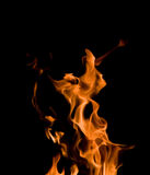 Fire dance Royalty Free Stock Images