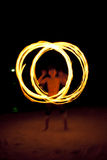Fire dance Royalty Free Stock Image