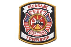 Fire Department Badge Stock Photo