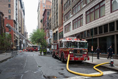 Fire Department of the City of New York FDNY Stock Image