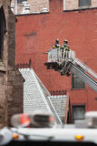 Fire Department of the City of New York FDNY. NEW YORK, USA - May 02, 2016: Fire Department of New York City provides fire protection, technical rescue, primary Stock Images