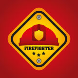 Fire department design Royalty Free Stock Photo