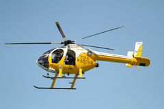 Fire Department Helicopter Royalty Free Stock Photography