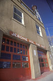 Fire Department, Jerome, Arizona stock image