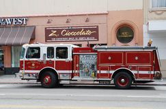 Fire Department  vehicle Royalty Free Stock Image