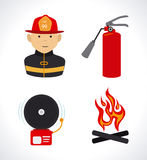 Fire design Stock Images