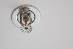 Fire detector and extinguisher Royalty Free Stock Photos