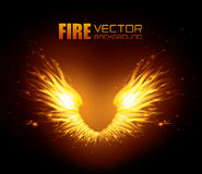 Fire digital design. Fire digital design, vector illustration eps 10 Stock Photography