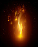 Fire digital design. Fire digital design, vector illustration eps 10 Stock Photo