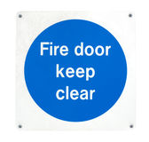 Fire door Stock Photos
