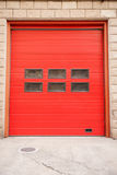 Fire door in Vertical composition. Fire door looks very beautiful and creative Stock Images