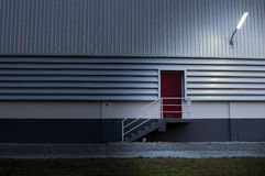Fire doors of the warehouse Royalty Free Stock Images