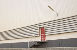 Fire doors of the warehouse Stock Photos