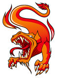 Fire Dragon Royalty Free Stock Photo