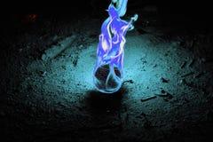 Fire Dragon Egg Stock Photo