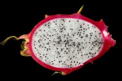 Fire dragon fruit Royalty Free Stock Photos