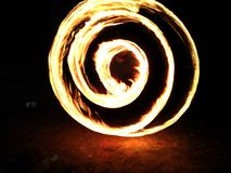 Fire drawing royalty free stock images