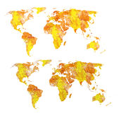 Fire earth. CAN BE USED BY MANY COMPANIES Royalty Free Stock Photos