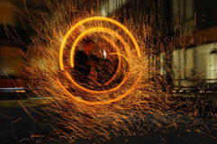 Fire effects Royalty Free Stock Image