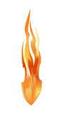 Fire element. Vector for your design Stock Image