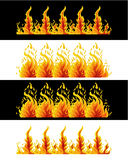 Fire Elements. Illustrations vector of Fire Elements Royalty Free Stock Photo