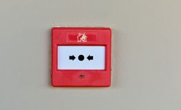 Fire Emergency Signs Stock Photo