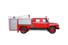 Fire Engine. Isolated with white background royalty free stock photos