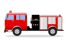 Fire Engine. Stock illustration of a fire engine Stock Photo