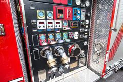 Fire engine detail Royalty Free Stock Photography