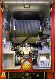 Fire engine equipment Stock Image