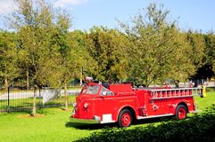 Fire engine, FL Royalty Free Stock Images