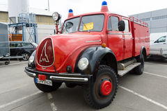 Fire Engine Magirus-Deutz Rundhauber LF 16-TS Royalty Free Stock Photo
