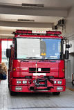 Fire engine - Major Pump. Marjor Pump, the fire engine with build-in water tank in Hong Kong Stock Photos