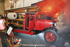 Fire engine PMG-1 on GAZ-AA chassis, 1932-1941 Royalty Free Stock Photography