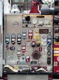Fire engine side panel. Stock Images