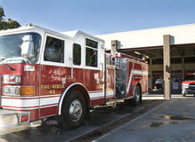 Fire Engine & Station Stock Images