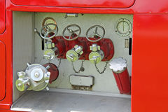 Fire Engine Tender. Royalty Free Stock Photos