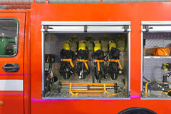 Fire Engine Tools Royalty Free Stock Photos