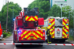Fire engines Royalty Free Stock Photography