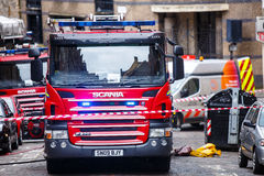 Fire Engines Royalty Free Stock Photos