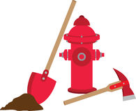 Fire Equipment Royalty Free Stock Photography