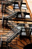 Fire escape Stock Photos