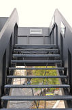 Fire escape Royalty Free Stock Images