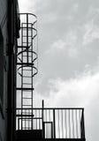 Fire escape Stock Images