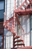 Fire escape. As an interesting design feature Royalty Free Stock Photography